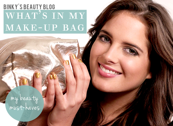 Inside Binky's Make-Up Bag