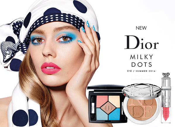 Dior Milky Dots Summer Look Swatches