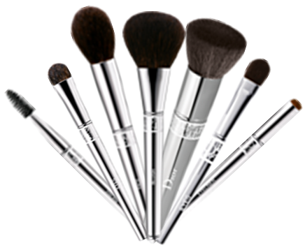 We should be washing our make-up brushes at least once a month to keep