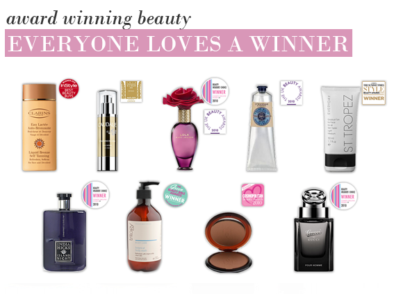 Award Winning Beauty Blogger: Everyone Loves A Winner.. Award Winning Beauty