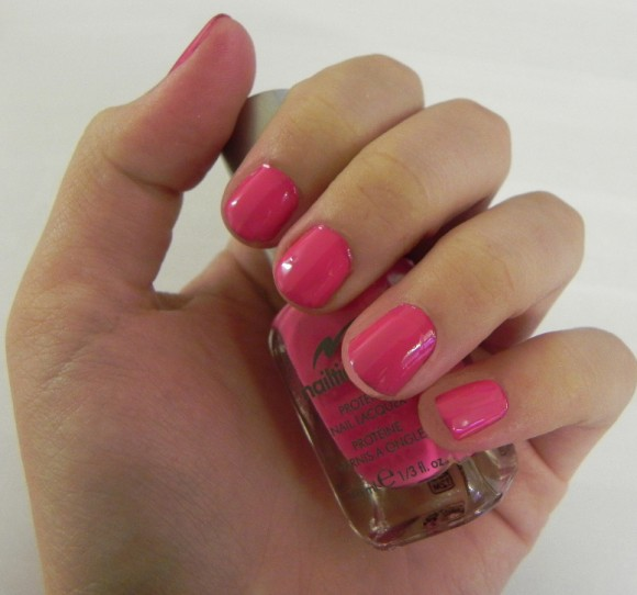 Nail Protein Polish: Flash Review: Nailtiques Nail Lacquer With Protein