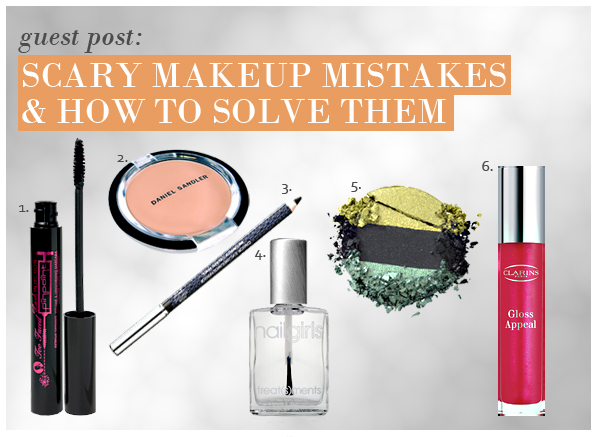 Scary Makeup Mistakes