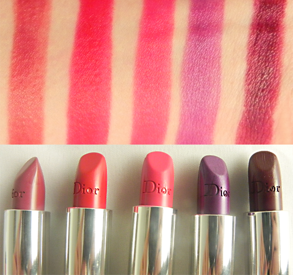 Swatch Post: Rouge Dior Lipstick - Escentual's Beauty Buzz