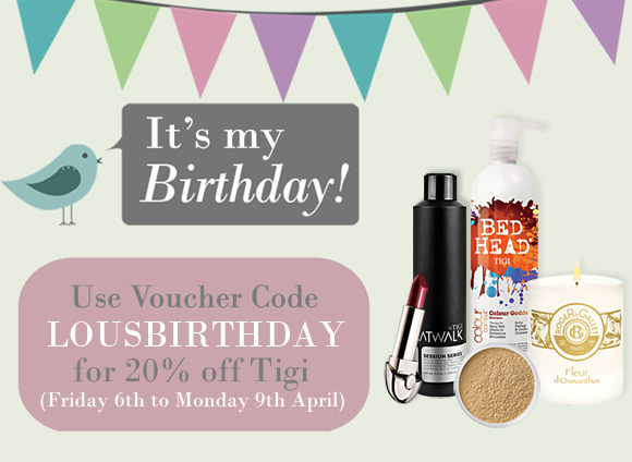 Lou's Birthday Voucher Code