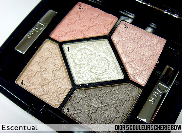 5 Couleurs Open - Dior Cherie Bow Makeup Collection