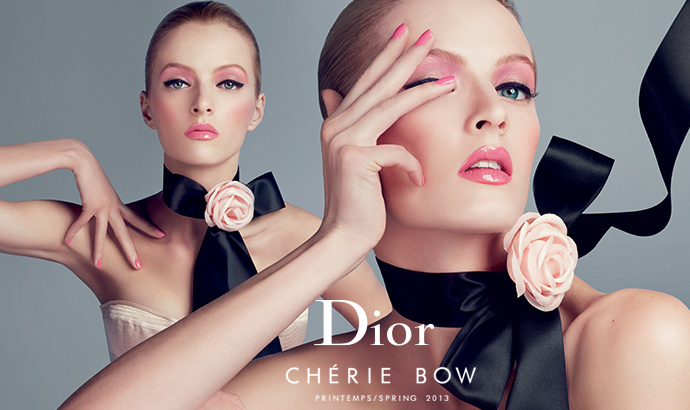 Dior Cherie Bow Spring Look