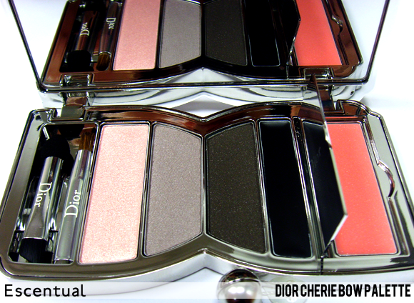 Cherie Bow Palette Open - Dior Cherie Bow Makeup Collection