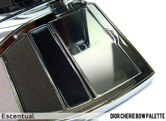 Cherie Bow Palette Trap Door Closed - Dior Cherie Bow Makeup Collection