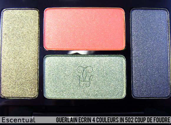 Guerlain Ecrin 4 Couleurs in 502 Coup De Foudre Close Up