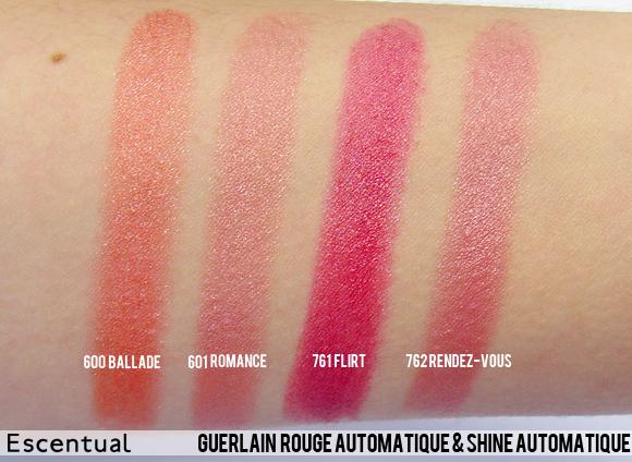Guerlain Rouge Automatique and Shine Automatique Spring