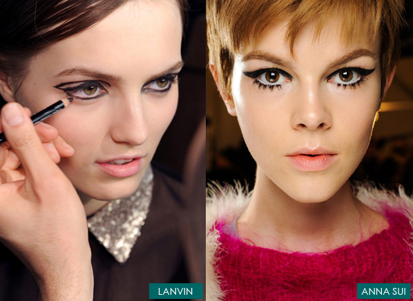 fashion 60s eyes