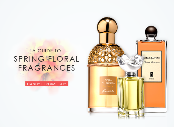 A Guide To Spring Floral Fragrances