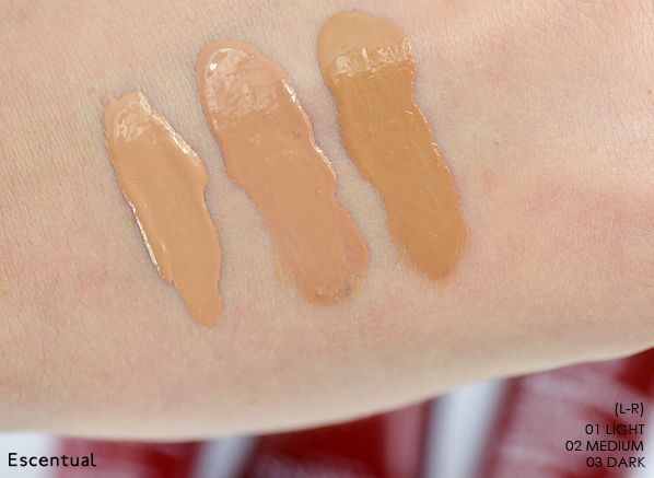 Clarins BB Cream Swatched Thick