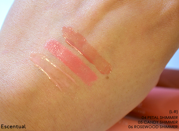 Clarins Instant Light Natural Lip Perfector Swatch Blended