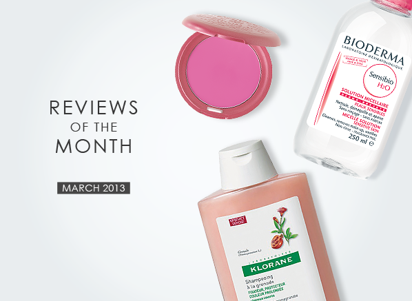 Reviews of the Month March 2013