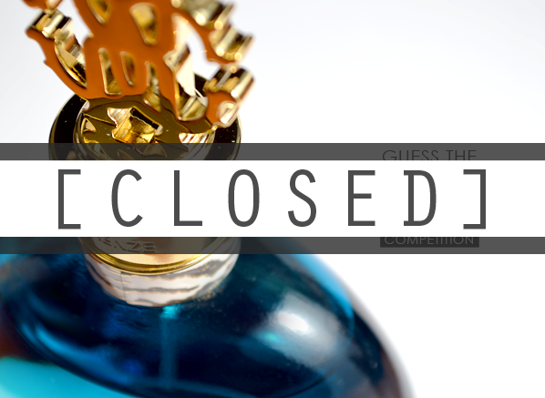 Roberto Cavalli Fragrance Competition Closed