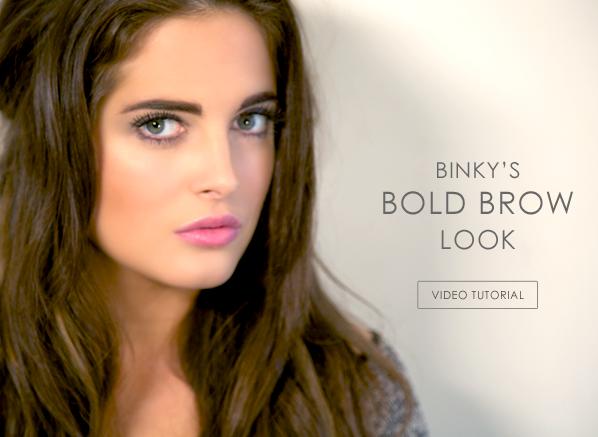 Binky's Bold Brow Look
