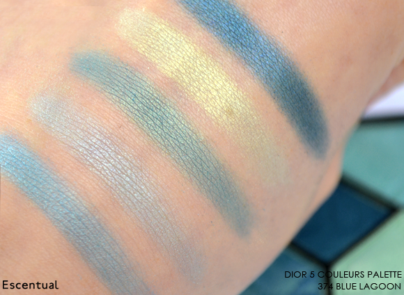 Dior 5 Couleurs Palette in 374 Blue Lagoon