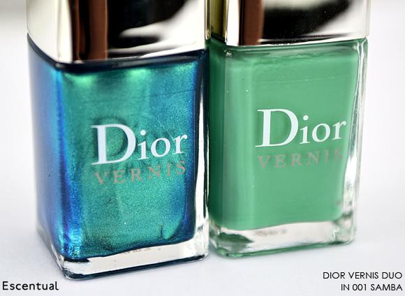 Dior Vernis Duo 001 Samba Bottles