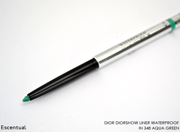 Diorshow Liner Waterproof in 348 Aqua Green
