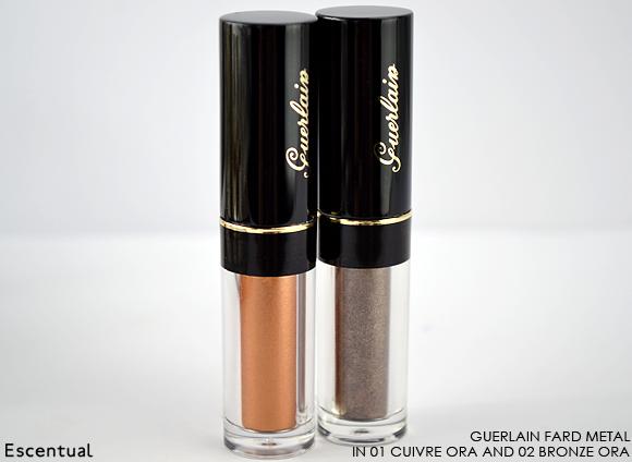 Guerlain Fard Metal in 01 Cuivre Ora and 02 Bronze Ora