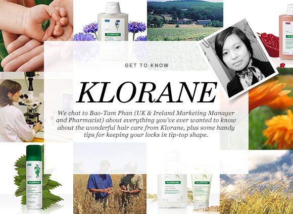 get to know klorane blog banner
