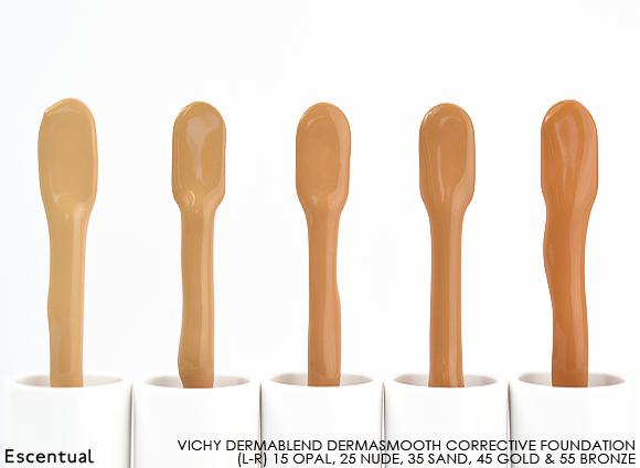 Vichy Dermablend Corrective Foundation Swatch Sticks