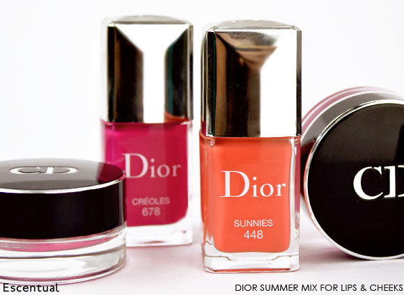 Dior Summer Mix for Lips and Cheeks Group Shot