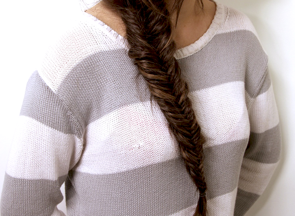 Do a Fishtail Plait with Binky