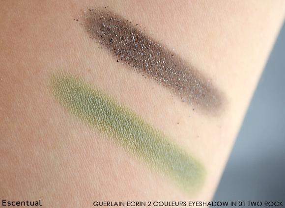 Guerlain Ecrin 2 Couleurs Eyeshadow in 01 Two Rock Swatch