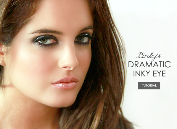 Dramatic Inky Eye Tutorial