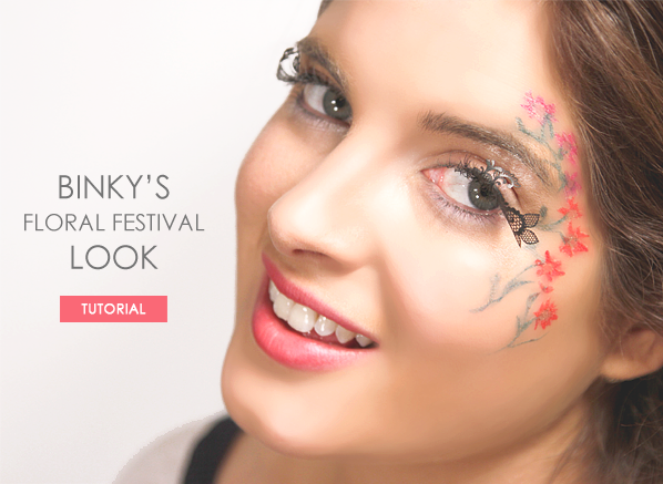 Binky's Floral Festival Look