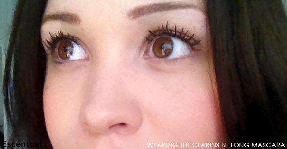 Clarins Be Long Mascara Worn