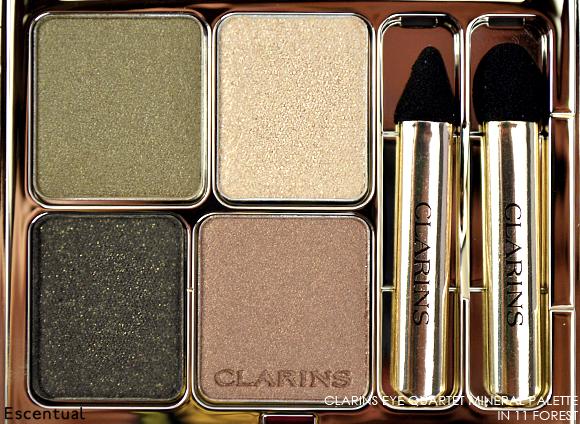 Clarins Eye Quartet Mineral Palette in 11 Forest CLOSE
