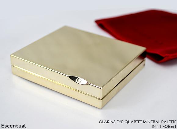 Clarins Eye Quartet Mineral Palette in 11 Forest
