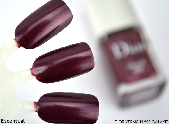 Dior Vernis in 992 Galaxie Swatch