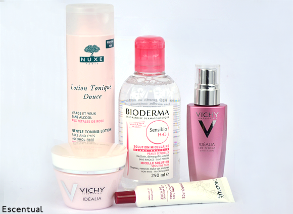 Dare to Bare Skincare Pink Products