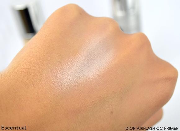 Dior Airflash CC Primer Swatch