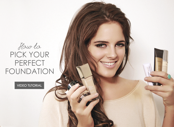 Binky Pick your Perfect Foundation