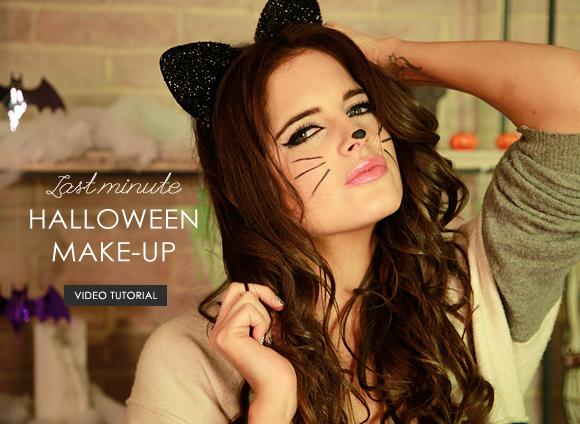 Binky's Last Minute Halloween Makeup Banner
