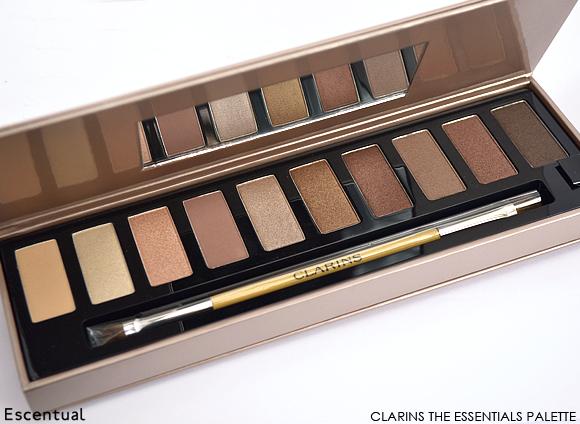 Clarins The Essentials Eye Make-Up Palette Open