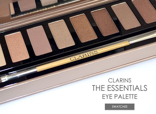 Clarins The Essentials Eye Makeup Palette Banner