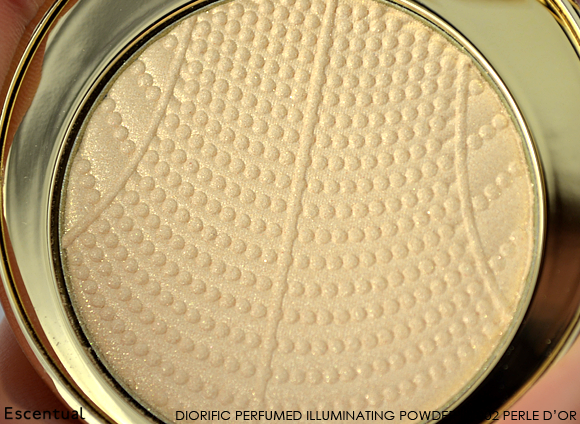 Dior Golden Winter Diorific Perfumed Illuminating Powder Close