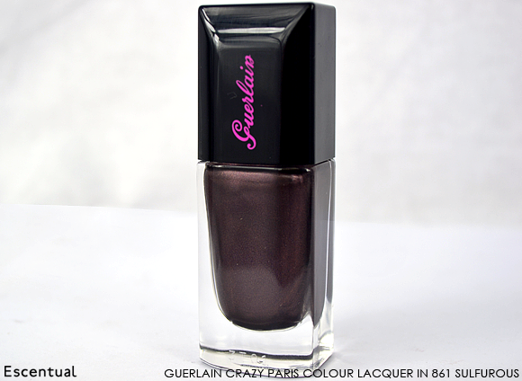 Guerlain Crazy Paris Colour Lacquer in 861 Sulfurous
