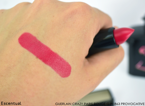 Guerlain Crazy Paris Rouge G 863 Provocative SWATCH1