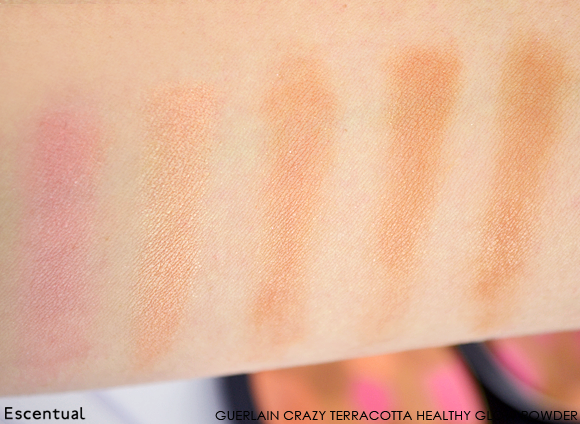 Guerlain Crazy Terracotta Healthy Glow Powder SWATCH