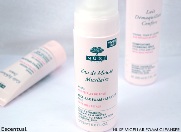 Nuxe Micellar Foam Cleaner