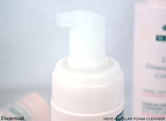 Nuxe Micellar Foam Cleanser CLOSE