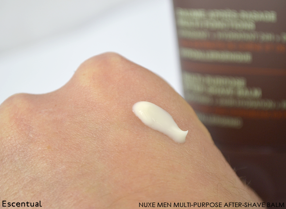 Nuxe Multi-Purpose After-Shave Balm Swatch