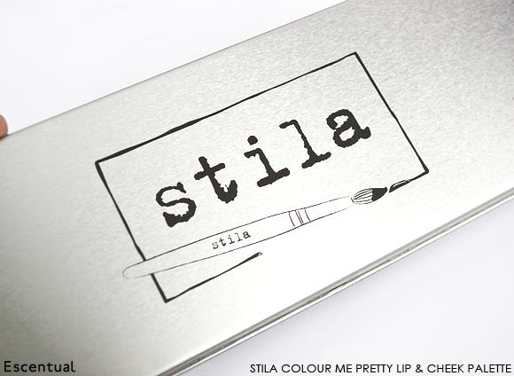Stila Colour Me Pretty Lip & Cheek Palette Closed